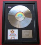 MARIAH CAREY - Rainbow CD / PLATINUM PRESENTATION DISC